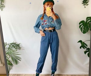 80s, jeans, and 80s look image