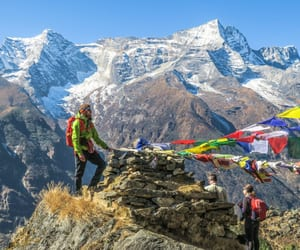 nepal, everest, and tours image