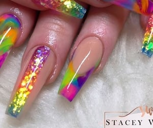 90s, Dream, and fake nails image