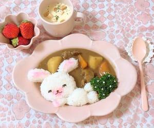 bunny, japanese food, and yummy image