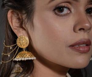 silver earrings for women image