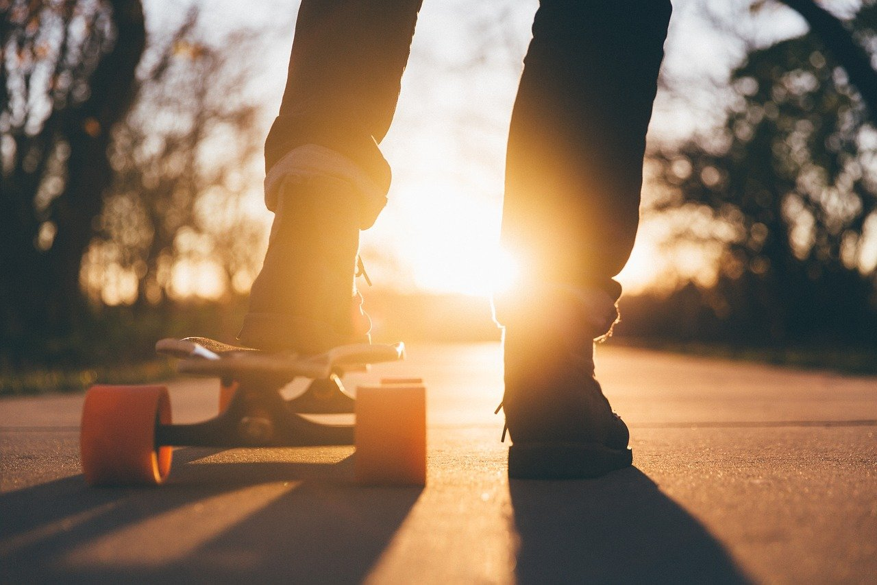 skateboard and article image