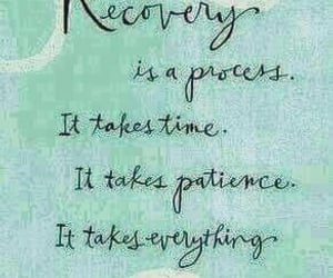 patience, recovery, and words image