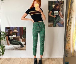 black, green, and outfits image