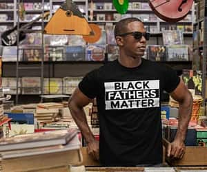 black, matter, and father image