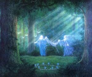 art, fairy, and spirituality image