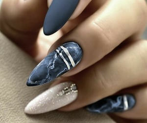 blue, dark blue, and marble image