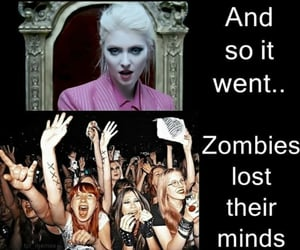 zombies, Taylor Momsen, and the pretty reckless image