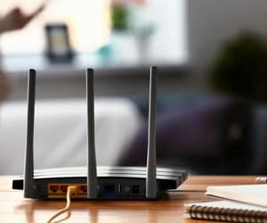 internet connection, w--fi start-up kit, and login to linksys router image