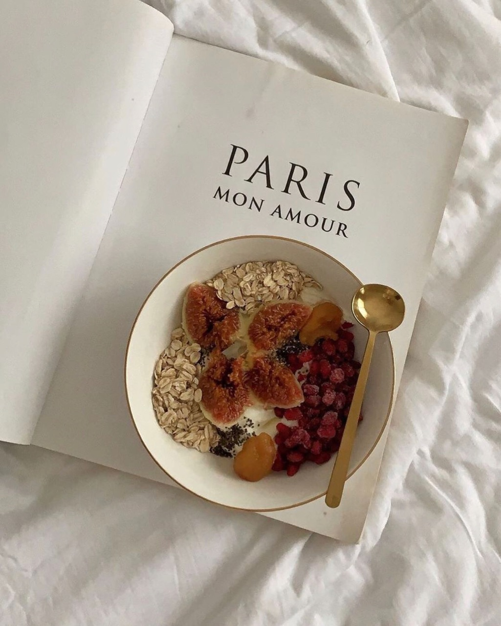 book, food, and aesthetic image