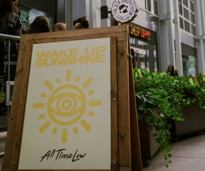 all time low, wake up sunshine, and atl image