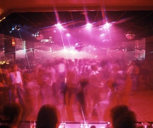 aesthetic, blurry, and dance floor image