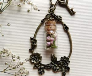 bright colors, floral wreath, and wreath necklace image