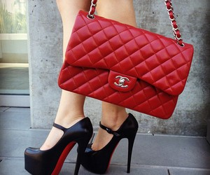 black, chanel, and Hot image