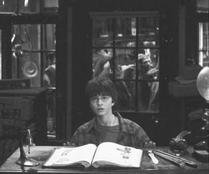 Harry at Ollivander.