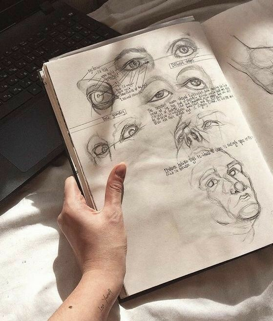 draw, drawing, and hobbies image
