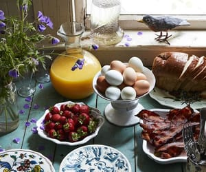 breakfast, cottage, and country image