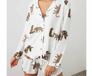 fashion, girl, and pajamas image