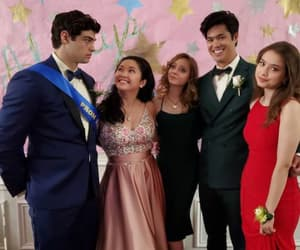 peter kavinsky, lana condor, and always and forever image