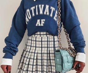 fashion, school, and woman girl image