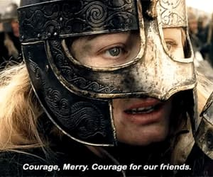 eowyn, girl power, and merry image