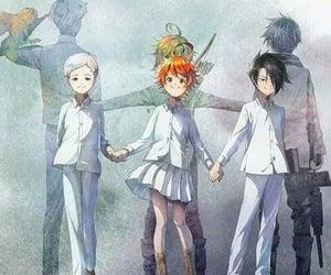 anime, emma, and ray image