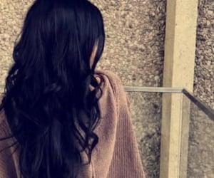 black hair, hair style, and haircut image