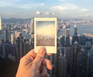 building, hong kong, and memories image