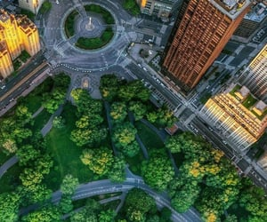 new york and columbus circle image