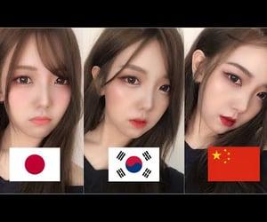 asian, kawaii, and makeup image