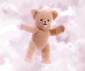 gif, pink, and teddy bear image