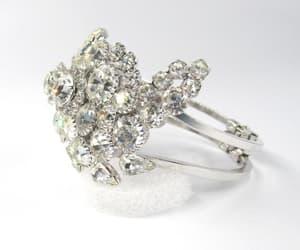 clamper, vintage bracelet, and wedding bracelet image