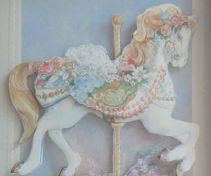angelic, bedroom, and carousel image