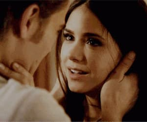 gif, the vampire diaries, and stelena image