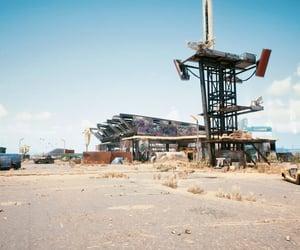cyberpunk, dystopian, and empty image