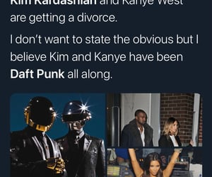 divorce, it's over, and daft punk forever image