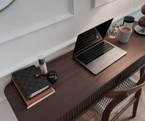 boss, desk, and home image