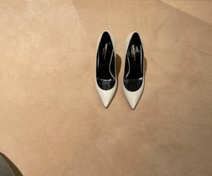 chic, high heels, and Yves Saint Laurent image