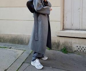 blogger, Prada, and coat image