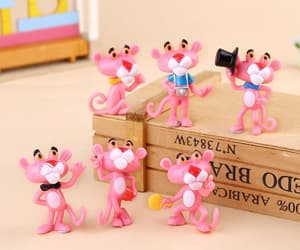 action figure and pink panther image