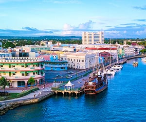 city, barbados, and Carribean image