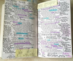 book, study, and annotating books image