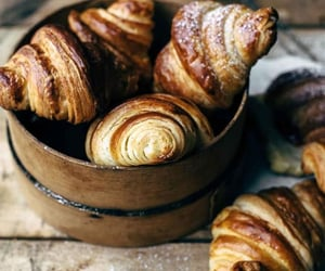 croissant, pastry, and desserts image