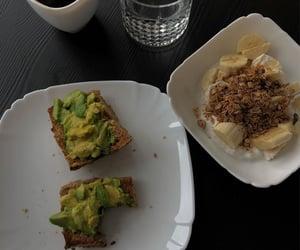 aesthetic, avocado, and banana image