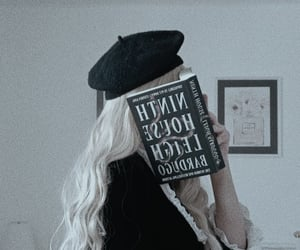 academia, aesthetic, and blonde image