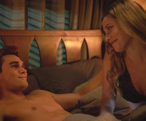warner, betty cooper, and archie andrews image