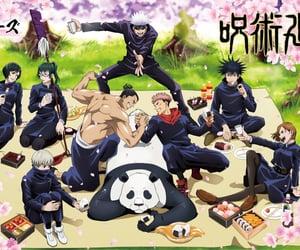 jujutsu kaisen, anime, and kawaii image