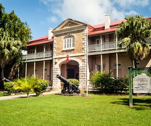 architecture, building, and barbados image