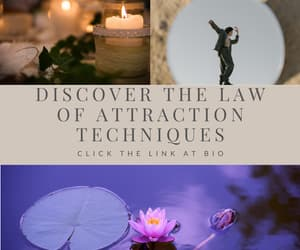 law of attraction, vision boards, and positive thinking image