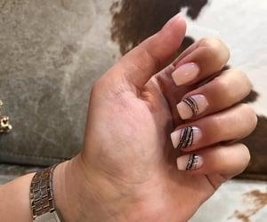 glitter, manicure, and nail art image